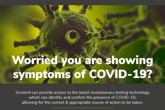 Screen4 announce launch of COVID-19 test